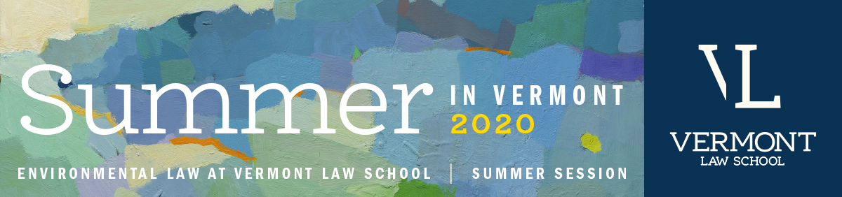 Environmental Law Center Summer 2020 Catalog