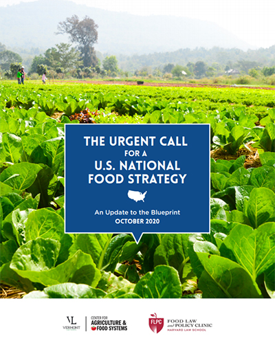 Urgent Call for a National Food Strategy