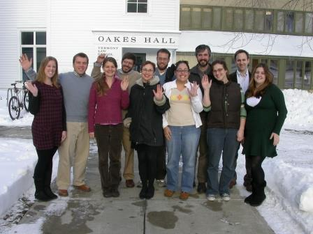 Environmental and Natural Resources Law Clinicians Fall 2007