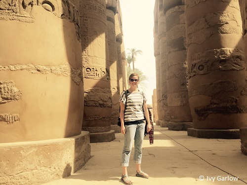 VLS student Ivy Garlow spent a semester in Cairo, Egypt at the Refugee Legal Aid Project (RLAP)